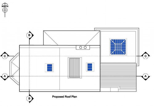 40 St Helens - Proposed Roof Plan