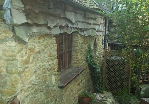 Thursley Cottage - Rear Wall