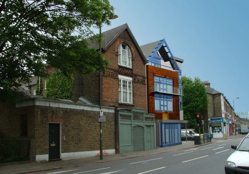 238 Battersea Park Road - Proposed Render 01