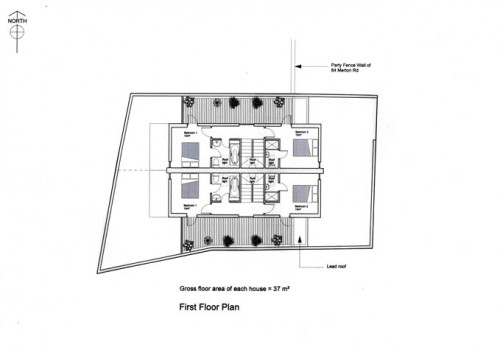86 Merton Road - First Floor Plan