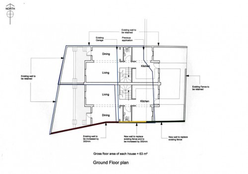 86 Merton Road - Ground Floor Plan