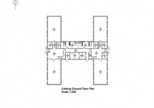 RAF Tangmere - Existing Ground Floor Plan