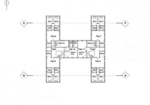RAF Tangmere - Proposed First Floor Plan