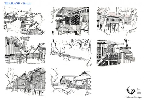 Sketches From Around The World 01