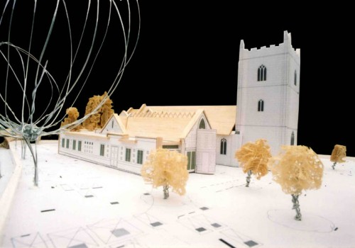 Wargrave Church - Model Close Up 03