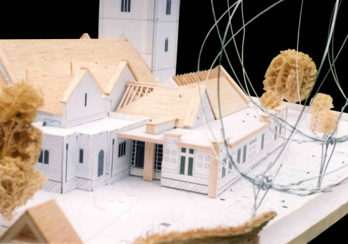 Wargrave Church - Model Close Up 02