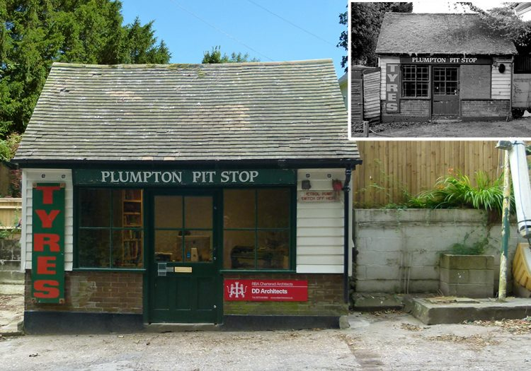 Our New Office space – Plumpton Pit Stop