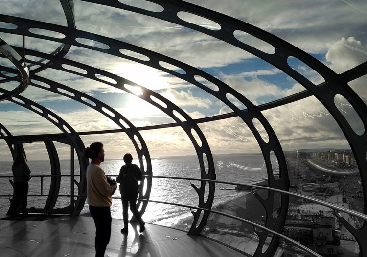 The i360 – The World's Tallest Slimmest Observation Tower