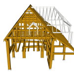 Original Timber Structure - East View