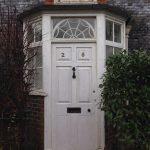 Cotterlings – Original Door in Modern Porch