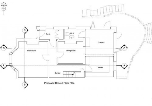 40 St Helens - Proposed Ground Floor Plan