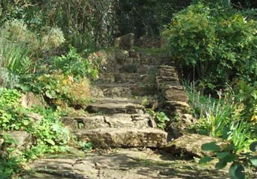 Thursley Cottage - Garden Steps 03