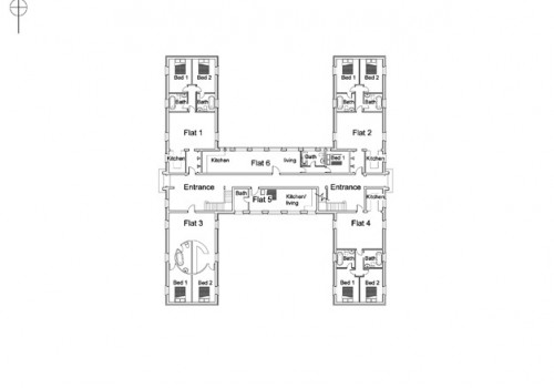 RAF Tangmere - Proposed Ground Floor Plan