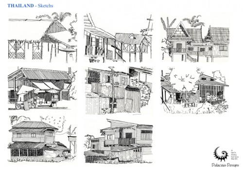 Sketches From Around The World 02