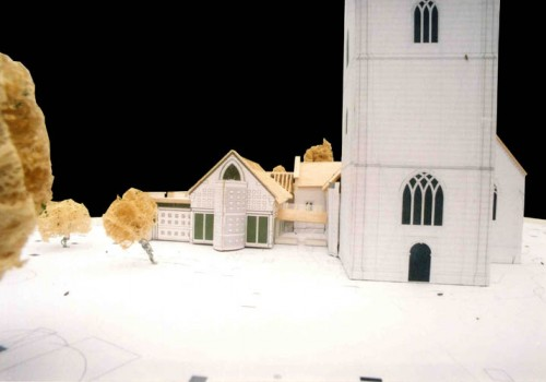 Wargrave Church - Model Close Up 04