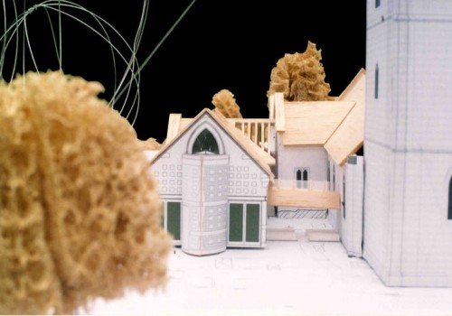Wargrave Church - Model Close Up 01