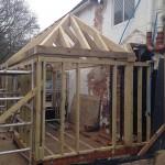 oak framing, construction