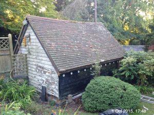 Plumpton Pit Stop roof repaired