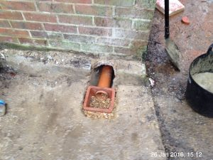 Plumpton Pit Stop clay air brick vent