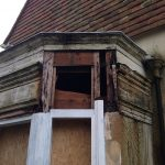 Cotterlings - Bay Window - During Repair