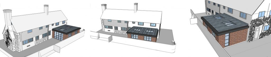Proposed Contemporary Extension