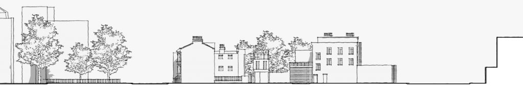 Proposed Street Elevation